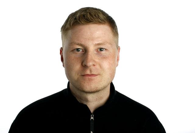 Magnús Halldórsson viðskiptafréttastjóri Stöðvar 2 og Vísis.