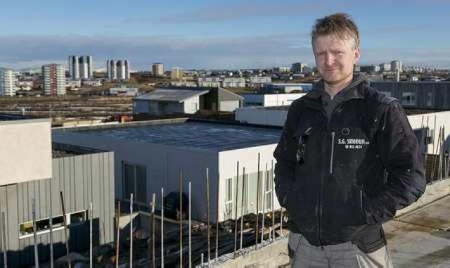 Sigurður Gunnarsson, eigandi S.G. smiða, hefur unnið í byggingargeiranum í ...