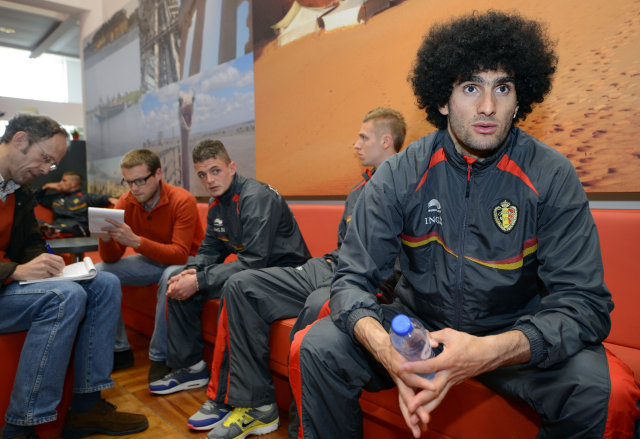 Marouane Fellaini.