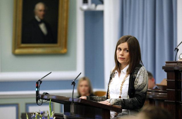 Katrín Jakobsdóttir, formaður VG.