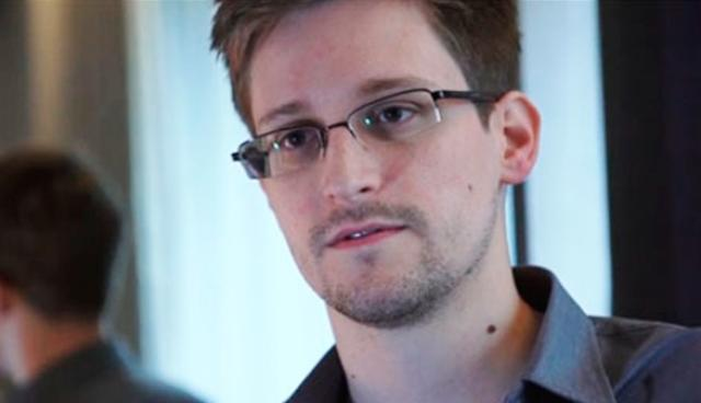 Uppljóstrarinn Edward Snowden.