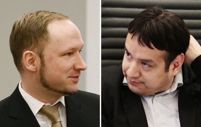 Anders Behring Breivik og Thomas Indrebø