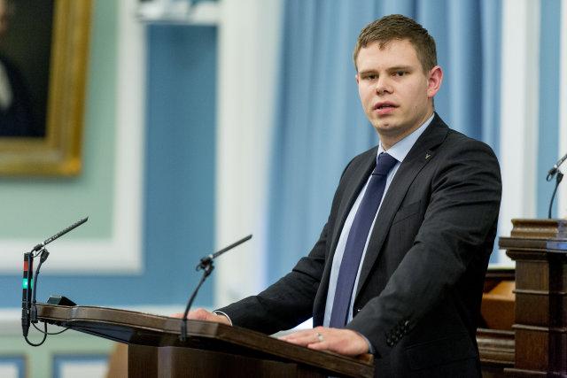 Vilhjálmur Árnason, þingmaður Sjálfstæðisflokksins. Alþingi.