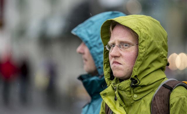 Það hefur rignt mikið fyrir sunnan þetta sumarið