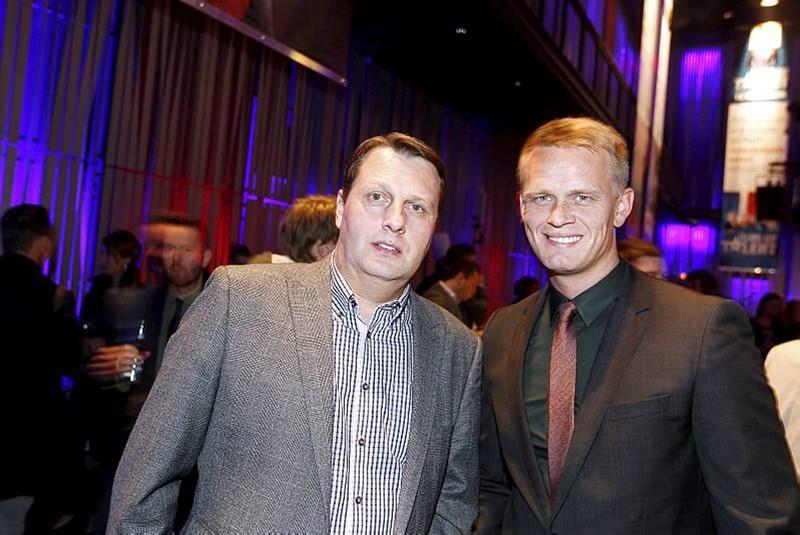 Ágúst Héðinsson og Hjörvar Hafliðason.