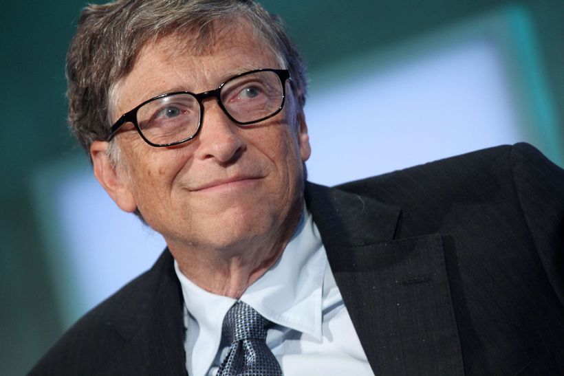 Bill Gates er ríkur maður.