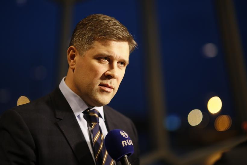 Bjarni Benediktsson fjármálaráðherra.