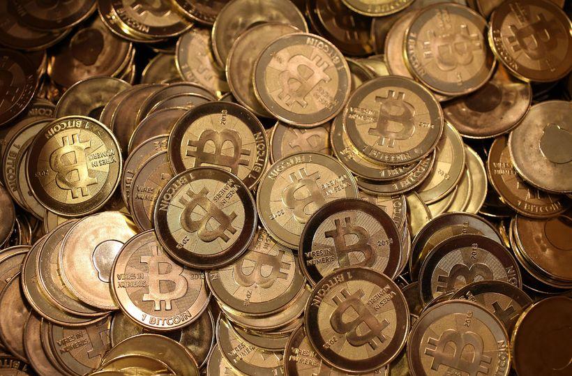 Bitcoin er vinsælasta rafmyntin í dag. Forsvarsmaður auroracoin vonast til ...
