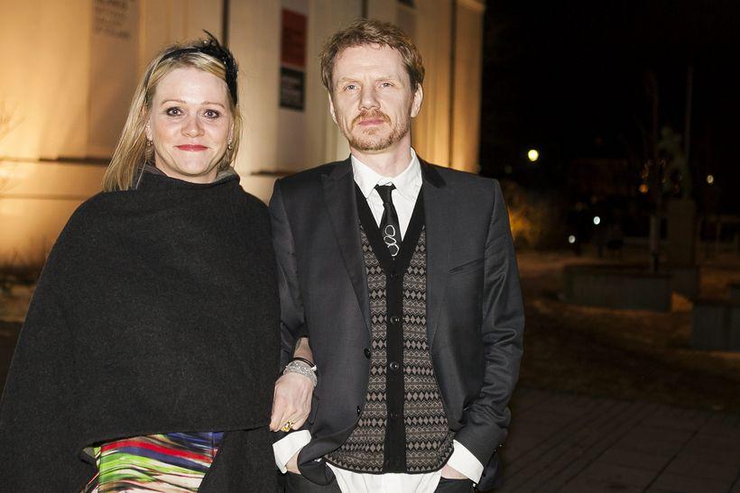 Katrín Júlíusdóttir og Bjarni Bjarnason.