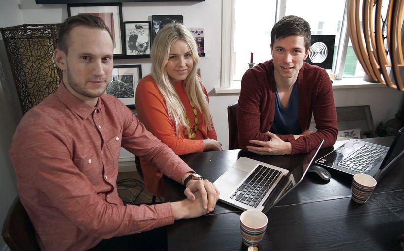 Gunnar, Erla og Steindór standa að baki vefsíðunni Betri svefn.
