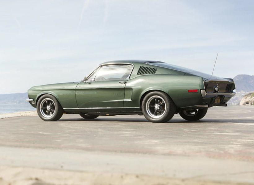 Línur 1968 módelsins af Mustang Fastback eru einkar vel heppnaðar. ...