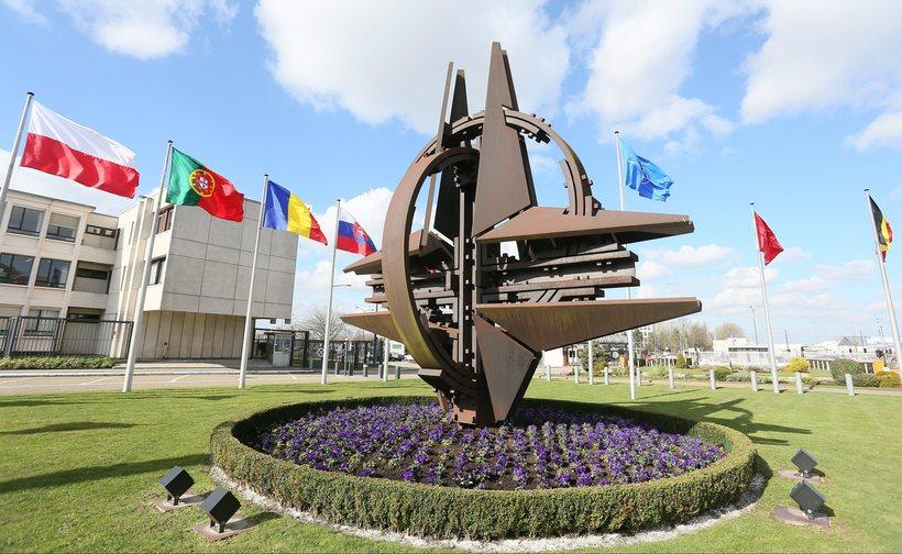 Höfuðstöðvar Nato í Brussel.