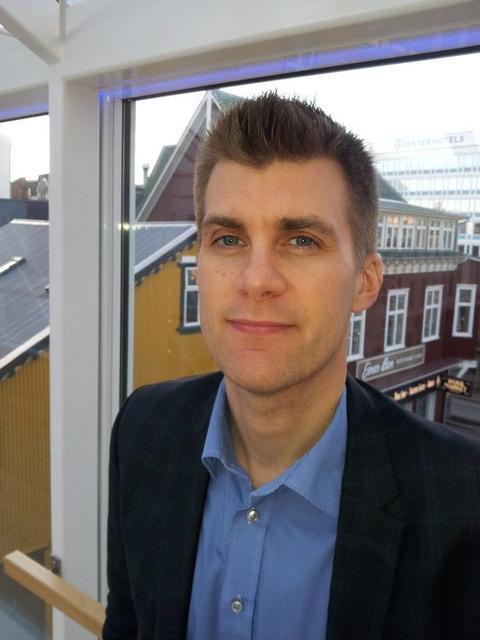 Gústaf Steingrímsson, hagfræðingur hjá hagfræðideild Landsbankans.