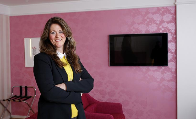 Magnea Þórey Hjálmarsdóttir, framkvæmdastjóri Icelandair Hotels, segir að gert sé ...