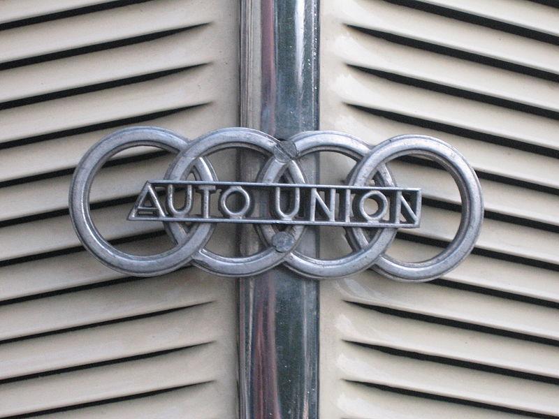 Hið upprunalega táknmerki Auto Union.