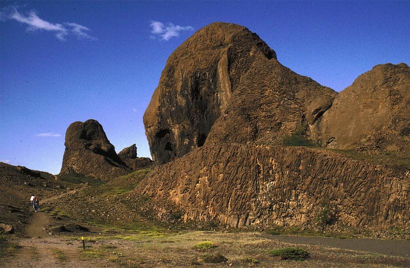 Hljóðaklettar rock formations are something else.