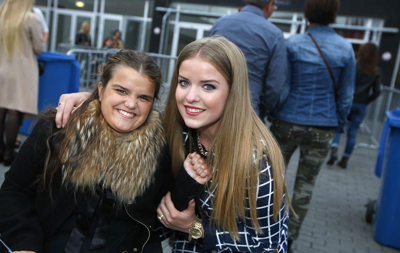 Nína Kristín Sigurbjörnsdóttir og Áslaug Arna Sigurbjörnsdóttir.