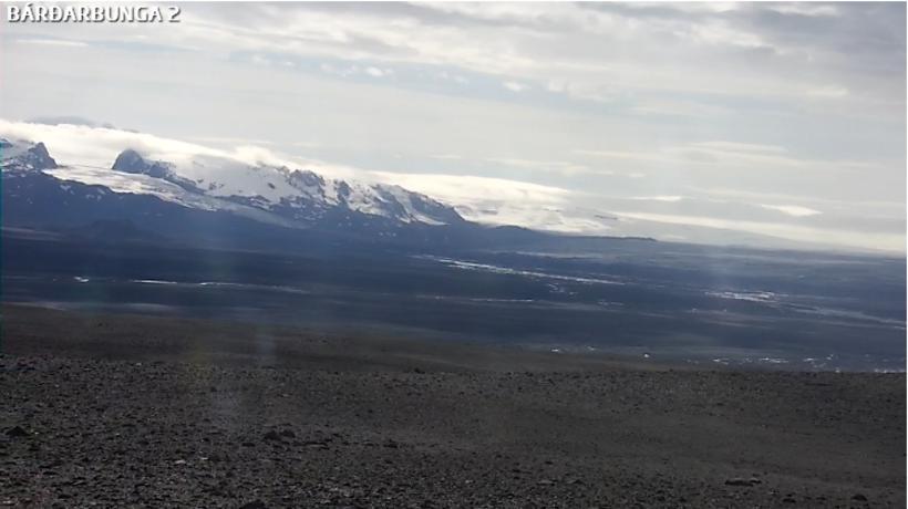 Vefmyndavél við Bárðarbungu.