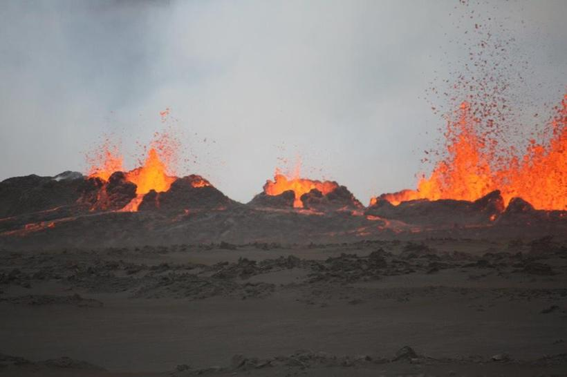Photo from the eruption.