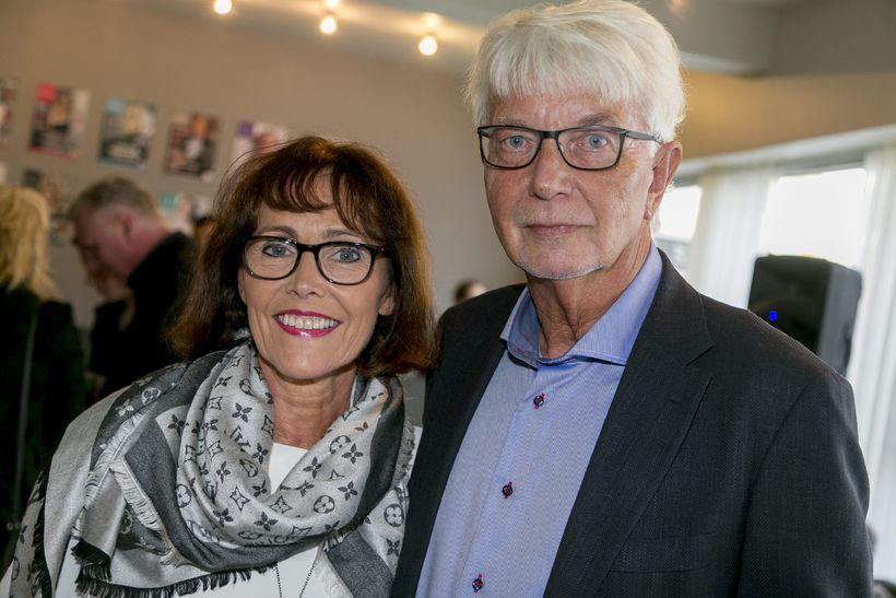 Kristín Waage og Knútur Signarsson.