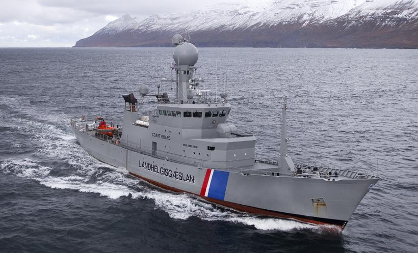 Varðskipið Týr.