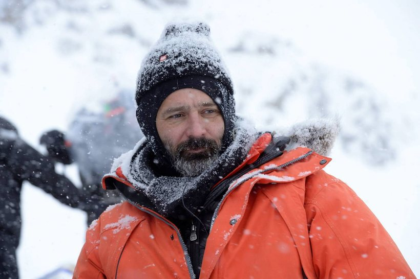 Kormákur on the set of his most recent film, Everest, ...