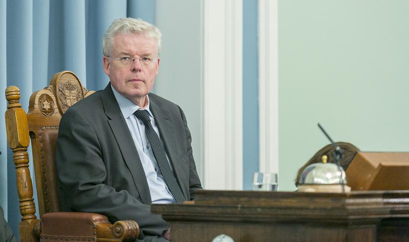 Einar K. Guðfinnsson forseti Alþingis.