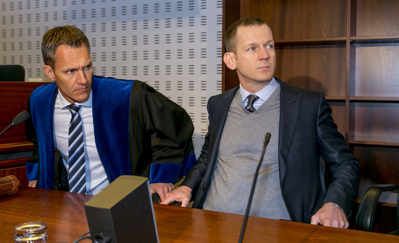 Hörður Felix Harðarson og Hreiðar Már Sigurðsson.