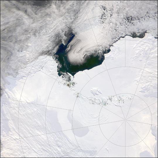Suðurpóllinn með augum NASA