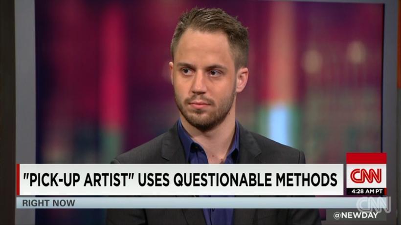 Julien Blanc í viðtali á CNN.