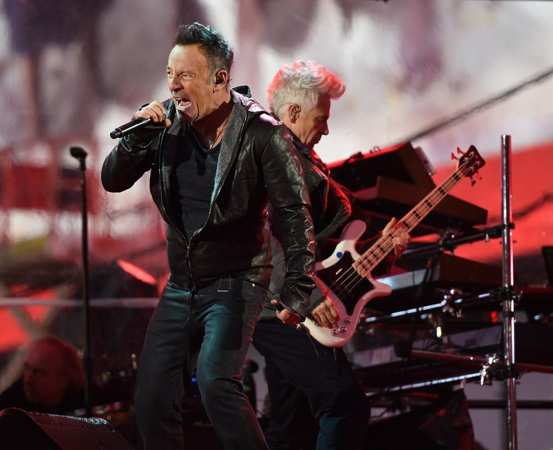 Bruce Springsteen ásamt U2