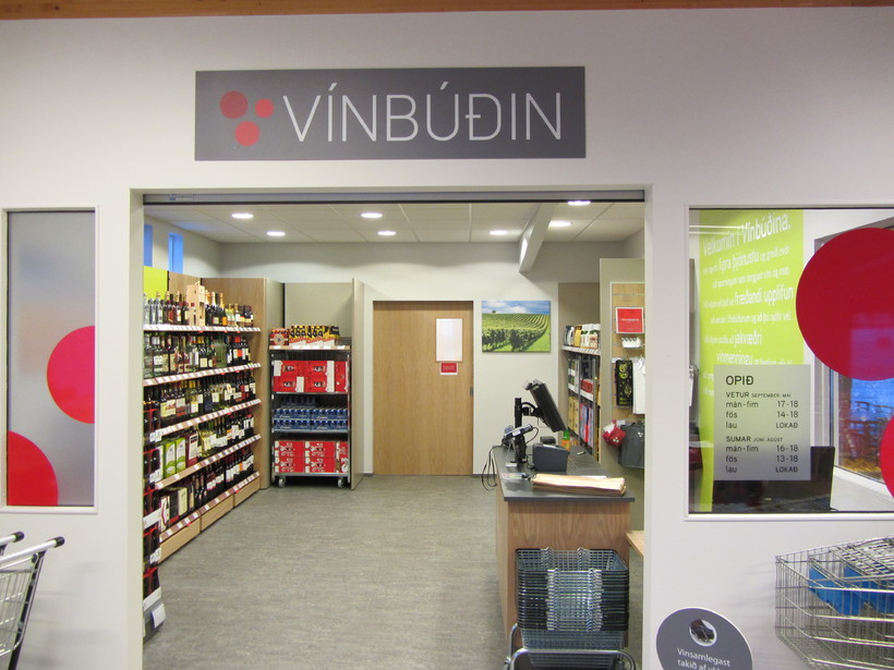 Vínbúðin stores are the only place to buy retail alcohol ...