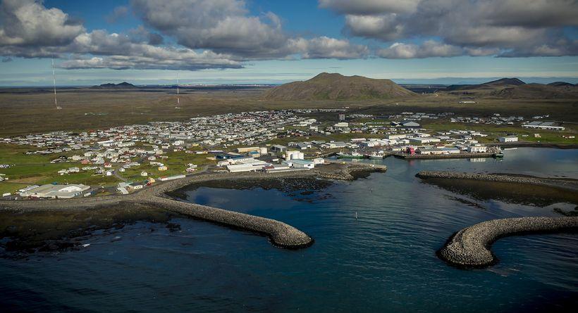 Frá Grindavík.