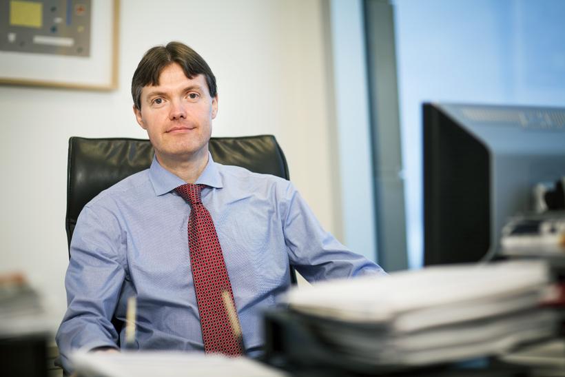 Páll Harðarson, forstjóri Kauphallarinnar.