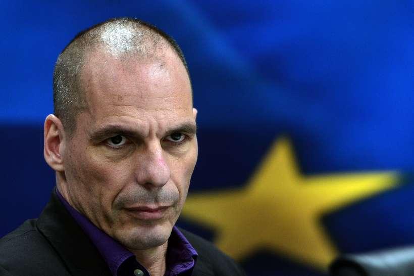 Yanis Varoufakis, fjármálaráðherra Grikklands.