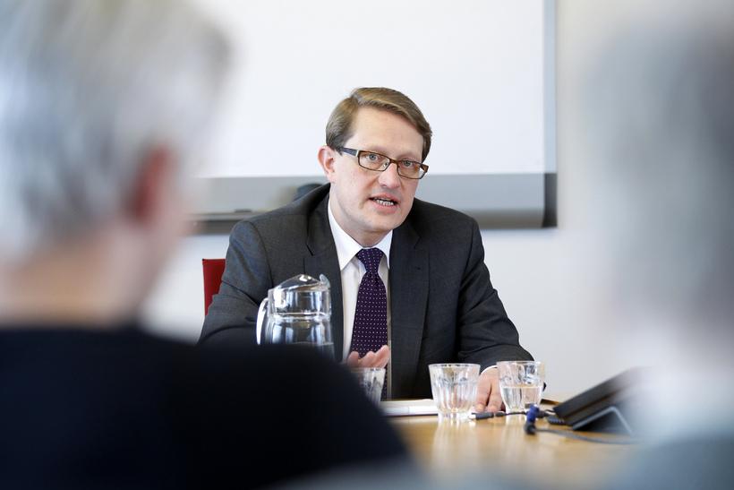 Birgir Ármannsson, varaformaður stjórnskipunar- og eftirlistsnefndar.