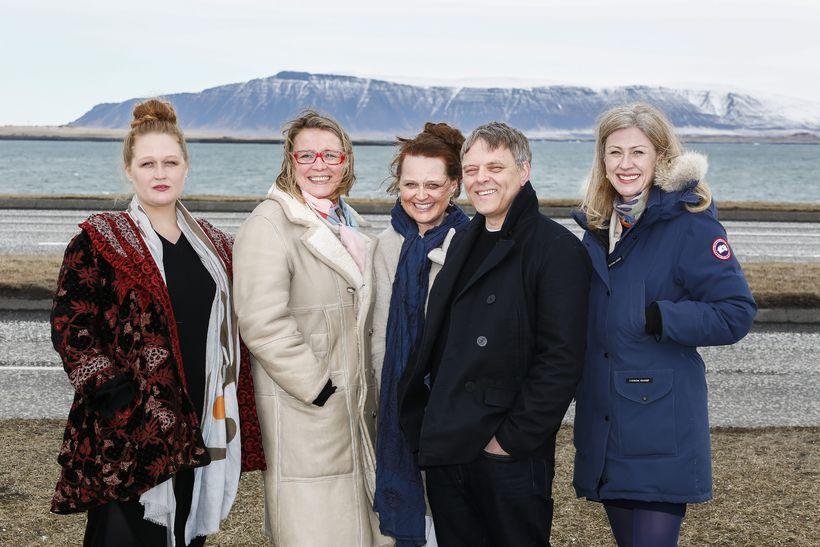 Sigga Maja, Ingibjörg Gréta Gísladóttir, Sóley Elíasdóttir, Erling Jóhannesson og ...