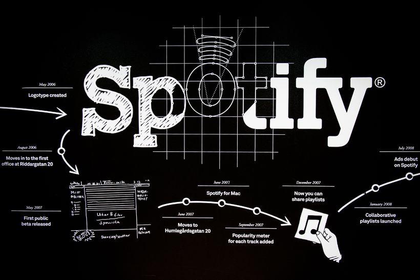 Spotify hefur verið á milli tannanna hjá fólki í tónlistargeiranum ...