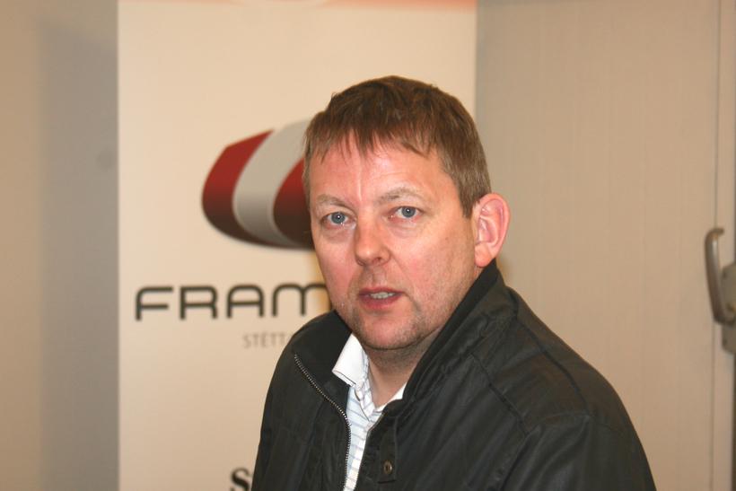 Aðalsteinn Árni Baldursson formaður Framsýnar.