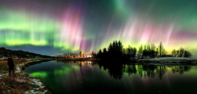 Stephane Vetter made this stunning video of northern lights above ...