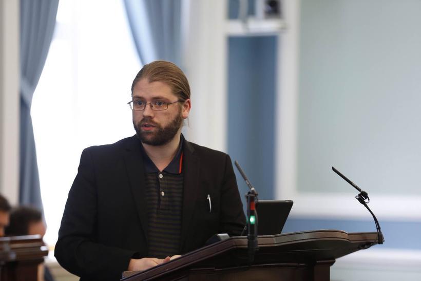 Helgi Hrafn, þingmaður Pírata.