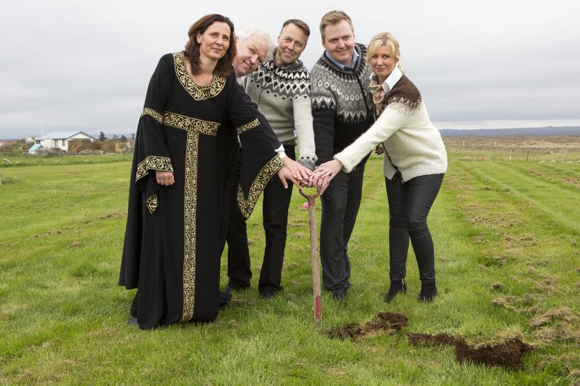Anna Rut Sverrisdóttir, Kristinn Ágúst Friðfinnsson, Birgir Þórarinsson, Sigmundur Davíð ...