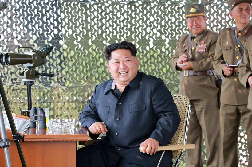 Kim Jong-Un, leiðtogi Norður-Kóreu.