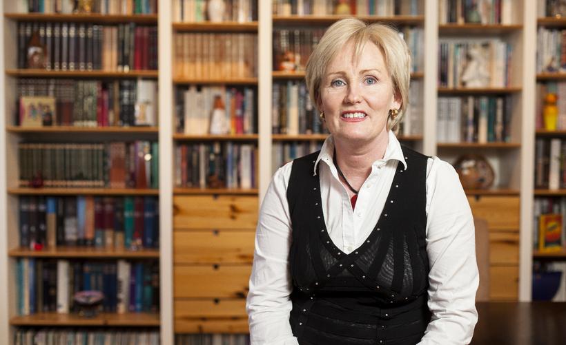 Stefanía Óskarsdóttir stjórnmálafræðingur segir vanda Samfylkingarinnar margþættan.