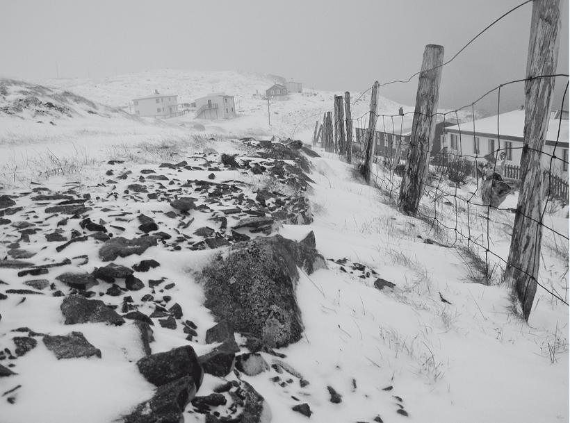 Djúpavík að vetri