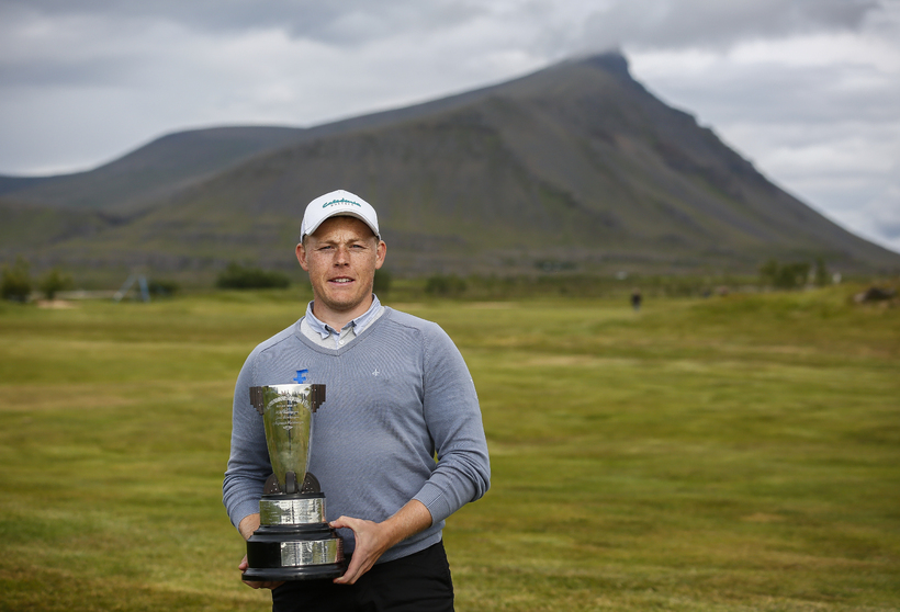 Þórður Rafn Gissurarson varð Íslandsmeistari síðasta sumar.