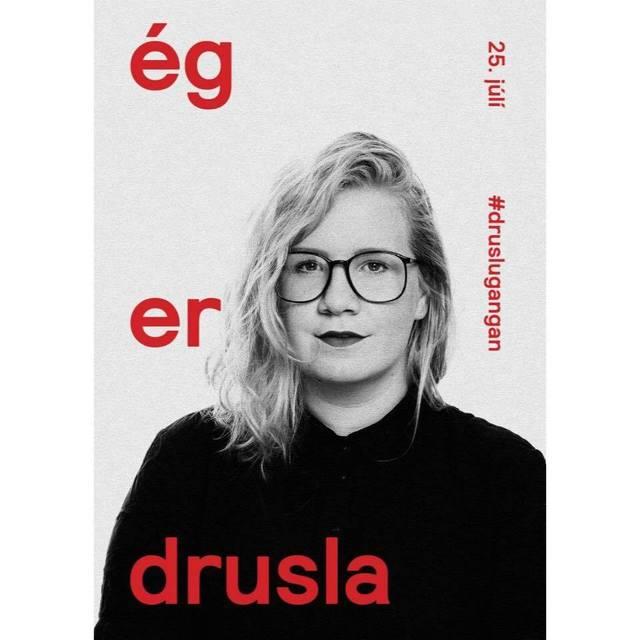 Helga Lind Mar, talsmaður Druslugöngunnar.