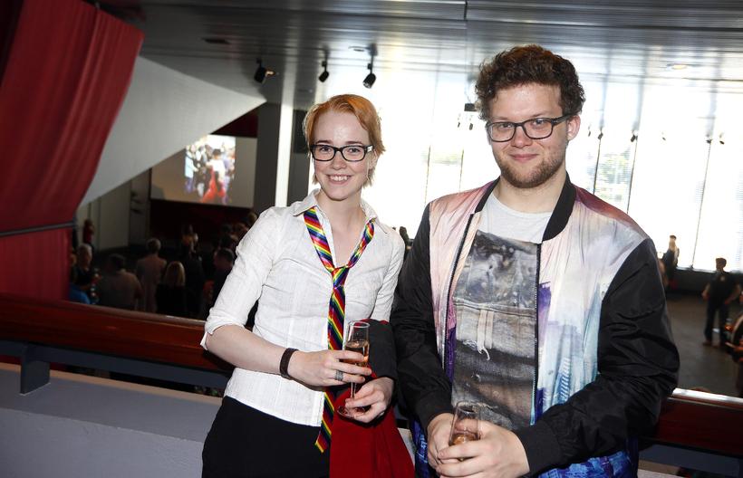 Sonja Bjarnadóttir og Sigurður Ýmir