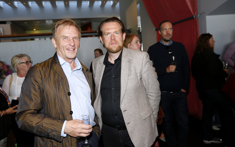 Hörður Torfason og S. Björn Blöndal