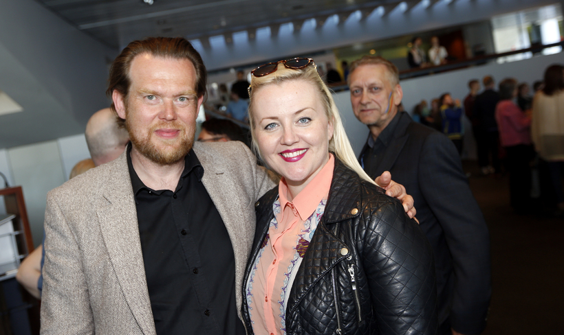 S. Björn Blöndal og Eva María Þórarinsdóttir Lange